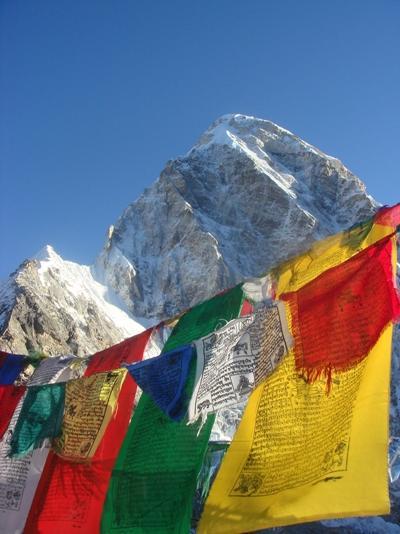 봉사자가 직접 네팔 히말라야 지역의 아름다운 설경