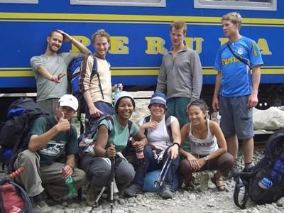 페루Sacred Valley 에서 봉사활동을 했던 동창생이 마추픽추 여행을 한다