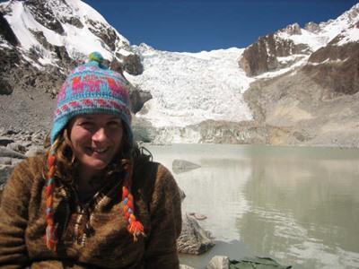 볼리비아 프로젝트 봉사자가 여가시간을 이용해 여행을 하고 있다