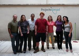 볼리비아 코차밤바 프로젝트 어브로드 스태프와 자원봉사자들