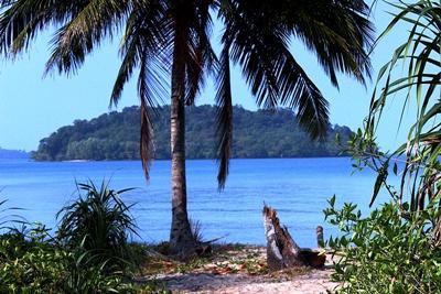 캄보디아 환경보호 프로젝트 활동지 Koh sdach 에서 보는 풍경