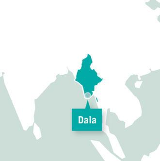 미얀마 울란바토르 활동지 지도