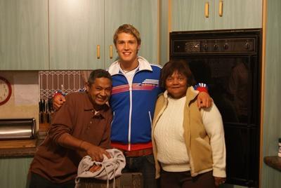 남아공 케이프타운의 호스트 가정과 남자 봉사자