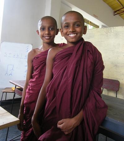 아시아 스리랑카 승려들