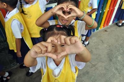 사회복지 프로젝트 태국 어린이들