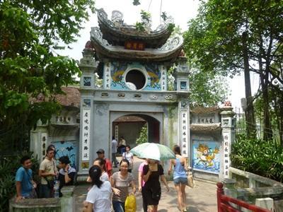 동남아 지역 베트남의 응옥 썬 Ngoc Son 사당