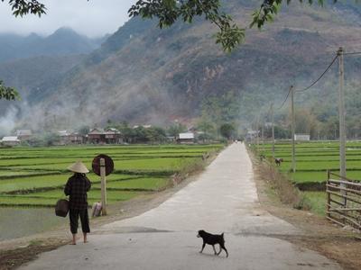 동남아 베트남의 아름다운 풍경