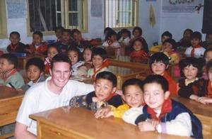 중국어린이와 해외자원봉사자