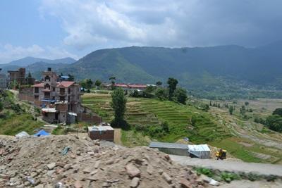 네팔 분가마티 마을의 건축 활동