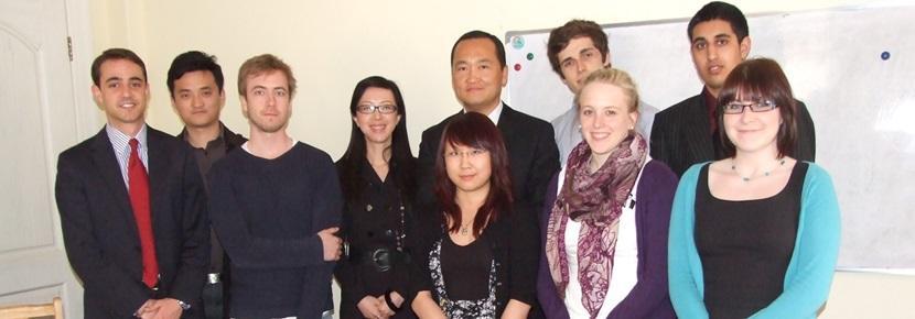프로젝트어브로드의 해외 비즈니스 인턴쉽 봉사자들