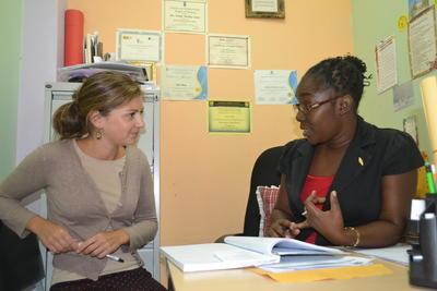 자메이카의 심리학자와 참가자