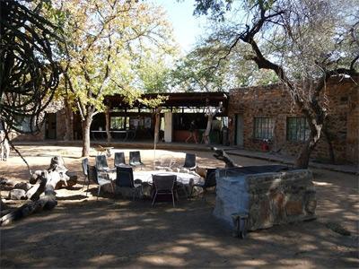 남 아프리카 보츠와나 환경보호 프로젝트 봉사자 숙소