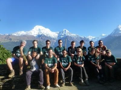 프로젝트 어브로드 네팔 환경 보호 프로젝트 봉사자