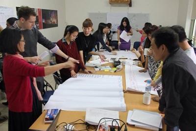 베트남 국제개발 인턴들