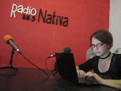 아르헨티나 방송국에서 활동하는 프로젝트어브로드 인턴