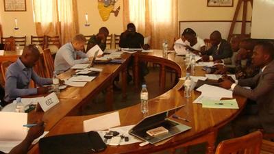 토고 인권 프로젝트에서 활동하는 법률 인턴들