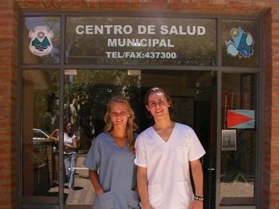아르헨티나의 의료 프로젝트 인턴