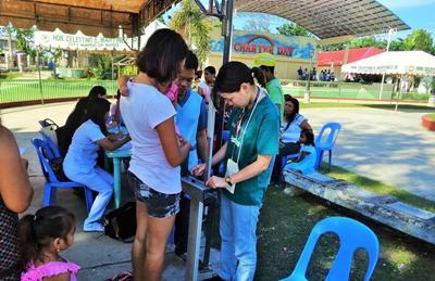 프로젝트 어브로드 필리핀 공중보건 프로젝트 봉사자