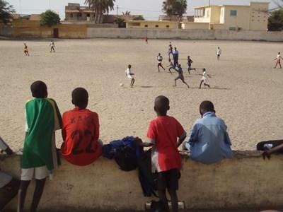 Football team in Senegal