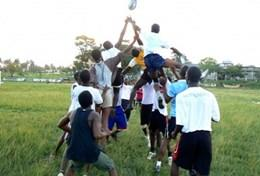 Volunteer in Ghana: Rugby