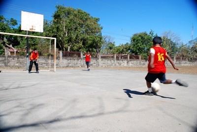 코스타리카 어린이 축구 코치 자원봉사