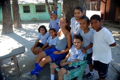 코스타리카 스포츠코치 자원봉사활동