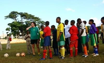 자메이카 스포츠 자원봉사