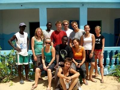 프로젝트어브로드 세네갈 그룹 자원봉사활동