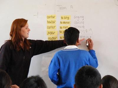 페루 영어교육 자원봉사