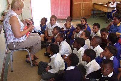 남아공 영어교육 자원봉사